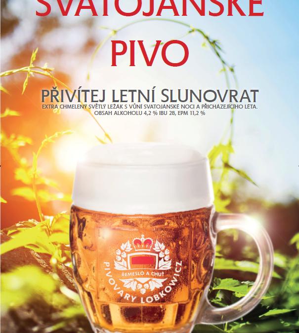 Přivítej letní slunovrat se Svatojánským pivem