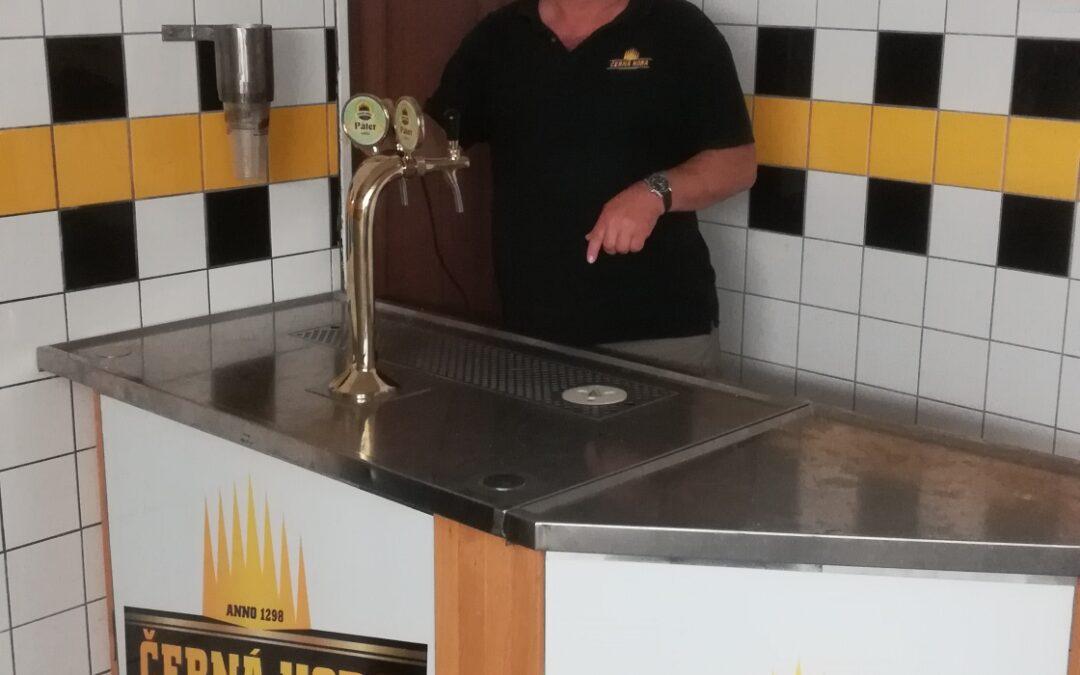 Ochutnávka piva ve sklepě pivovaru