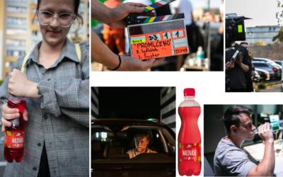 Limonády s chmelem při natáčení nového filmu